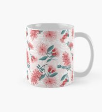 Australiana Floral Print- Bottlebrush and Flowering Gum Classic Mug