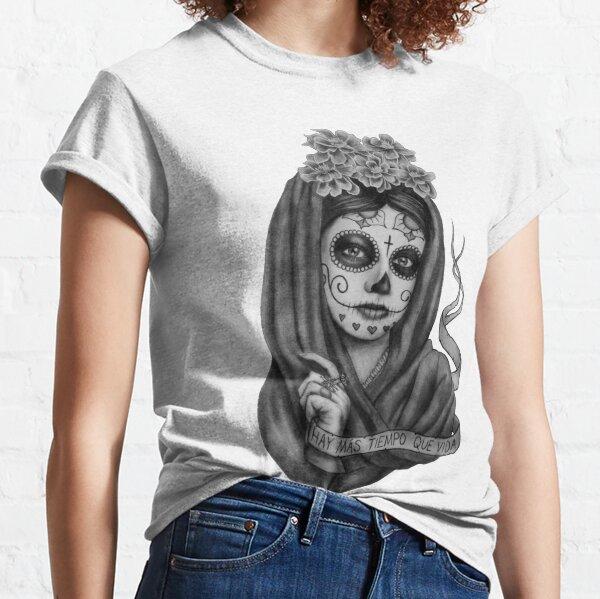 Hay Mas Tiempo Que Vida Camiseta clásica