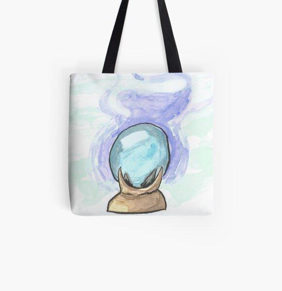 Inktober 2019 #4: Enchanted All Over Print Tote Bag