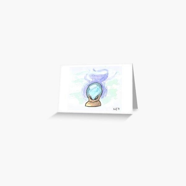Inktober 2019 #4: Enchanted Greeting Card