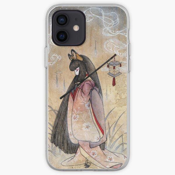 Bad Thoughts - Kitsune Fox Yokai  iPhone Soft Case