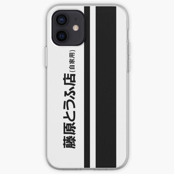 Fujiwara Tofu  iPhone Soft Case