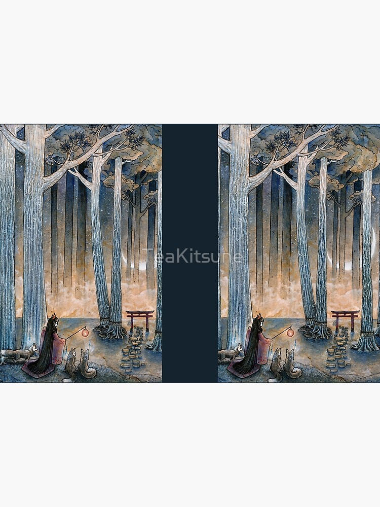 Beginning - Kitsune Fox Yokai Japanese by TeaKitsune