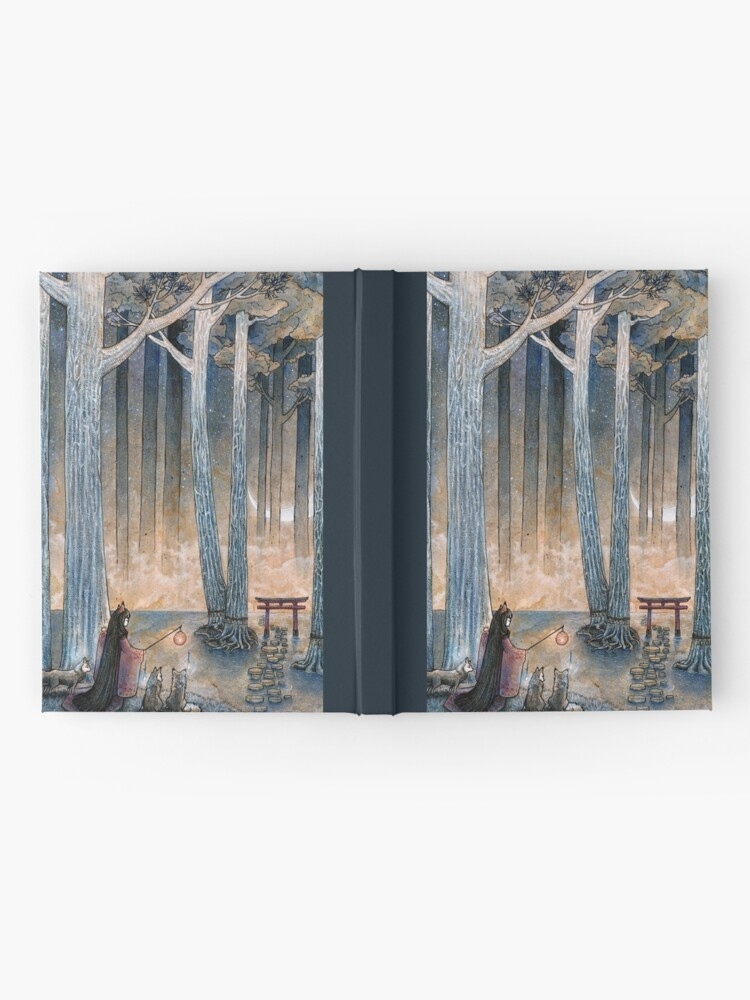 Alternate view of Beginning - Kitsune Fox Yokai Japanese Hardcover Journal