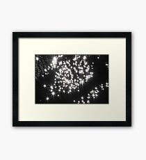 Summer Sun Sparkling In The Water Framed Print