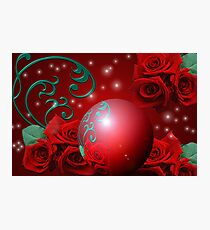 Special Occasions: The Rose Pearl Photographic Print