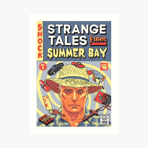 Strange Tales from Summer Bay Art Print