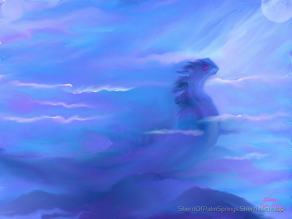 NESSIE THE LOCKNEST MONSTER & FRIENDS by SherriOfPalmSprings Sherri Nicholas-