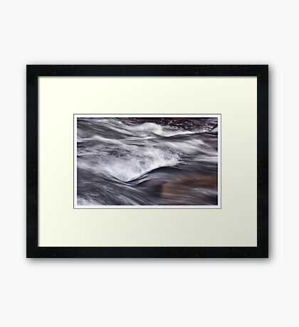 Uninhibited Framed Print