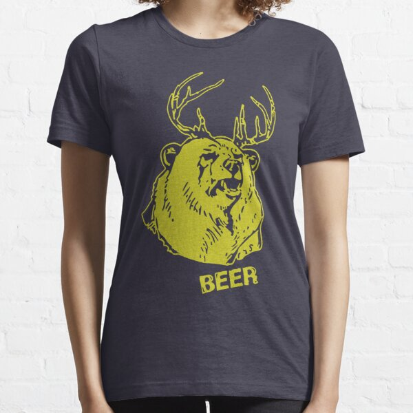 Macs Bear Plus Deer Shirt & More Essential T-Shirt
