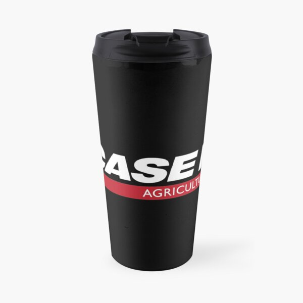 Case IH agriculture logo White red Travel Mug