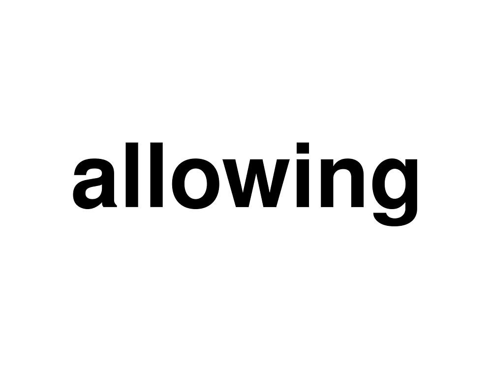 allowing by ninov94