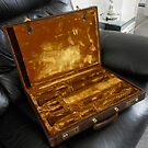 Vintage Clarinet Case by BlueMoonRose