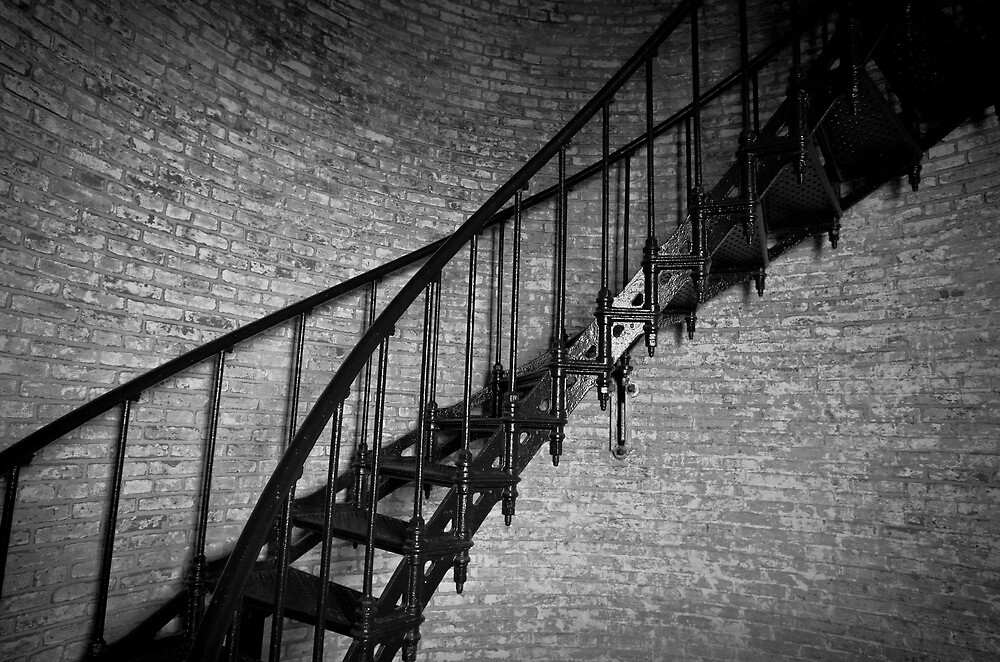 Enchanted Staircase II by David K. Sutton