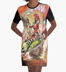 Bombshell Graphic T-Shirt Dress