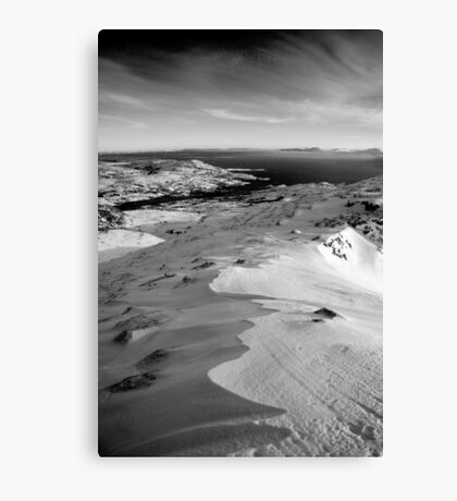 snow capped sleiveleague Canvas Print