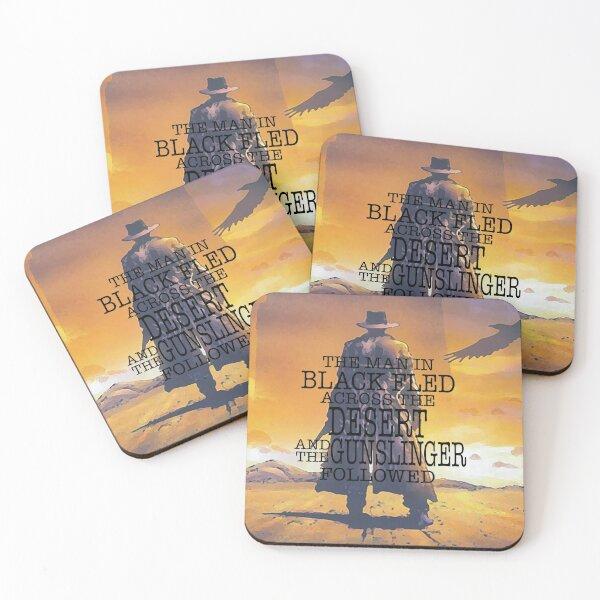 The Gunslinger Coasters (Set of 4)