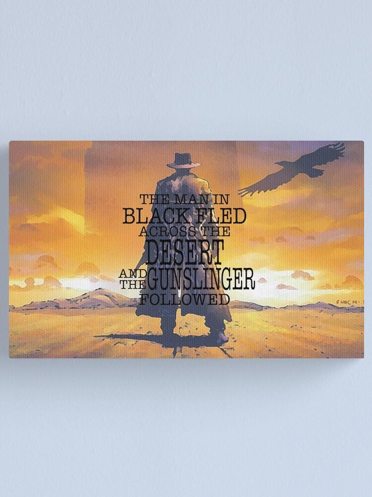 Alternate view of The Gunslinger Canvas Print
