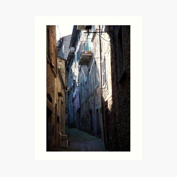 cityscapes #181, shaded Art Print