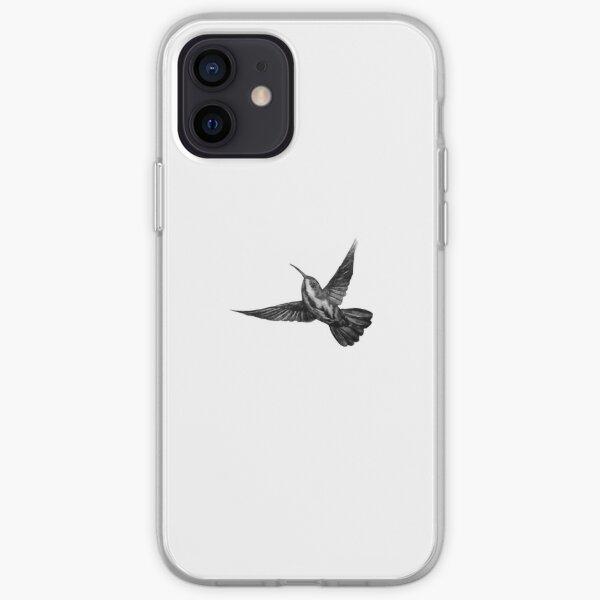 Luke Hemming's Humming Bird Tattoo Design iPhone Soft Case