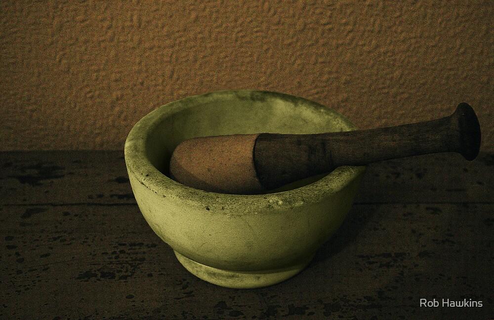 Pestle & Mortar by Rob Hawkins