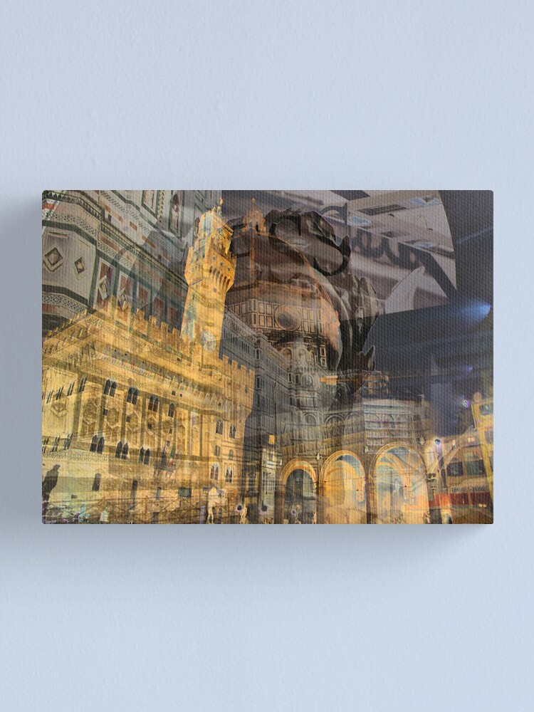 Alternate view of Firenze lo sai... (Firenze you know...) Canvas Print
