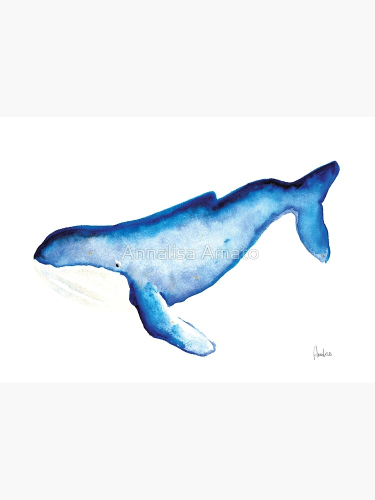 Whales Collection: Watercolor  by annalisaamato