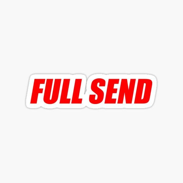 FULL SEND x NELK Sticker