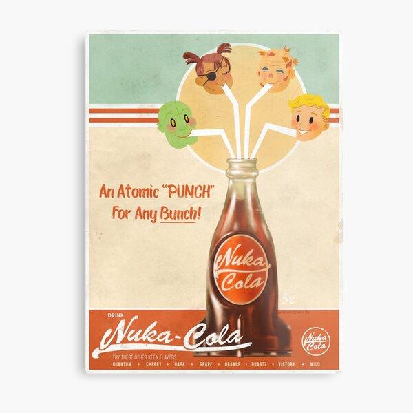 Nuka Cola Propaganda Metal Print
