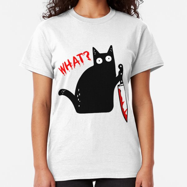 Happy Halloween Freaky Bats Ladies Fitted T-Shirt Funny Fancy Dress Gift Top