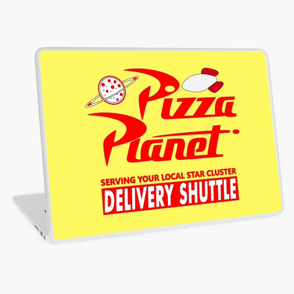 Pizza-Planet Laptop Folie