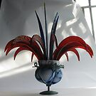 Mount Vase with Flowers by Jeffrey Hamilton