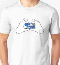 Keep Fingers Away From Lens (sticker) Unisex T-Shirt