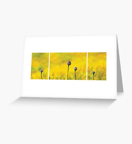 Yellow Garden Greeting Card