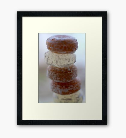 Sweet Stack Framed Print
