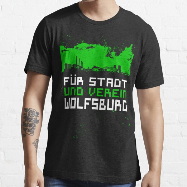 Wolfsburg stadt ultras hooligans Germany Essential T-Shirt