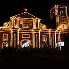 Imus Cathedral at night by nataraki76
