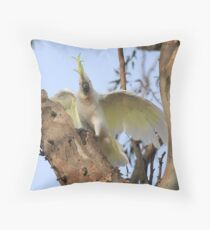 Cocky Throw Pillow