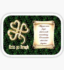 Erin go Bragh ~ Ireland Forever  Sticker