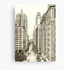Downtown Oklahoma City Canvas Print