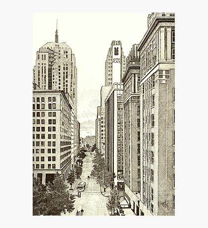Downtown Oklahoma City Photographic Print