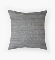 Gray streaks  Throw Pillow