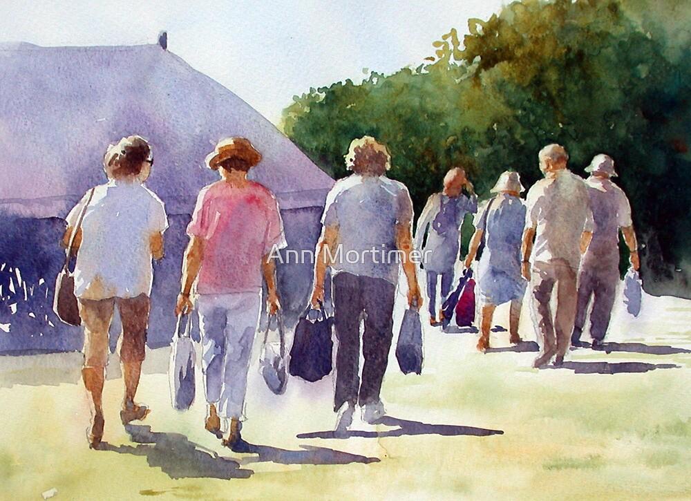 A good day at the fair by Ann Mortimer