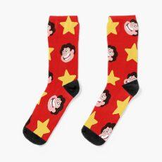 Steven Universe pattern Socks
