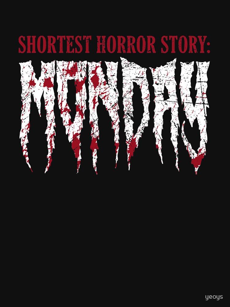 Shortest Horror Story Monday - Funny Horror Movie by yeoys