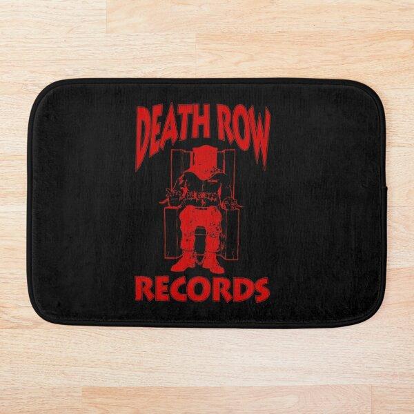 Death Row Shirt, Death Row Records, Death Row Records T-shirt, Death row suge, Fan aRt & Gear Bath Mat