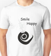 Smile Happy Unisex T-Shirt