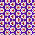 Batik-Style Flower by incurablehippie