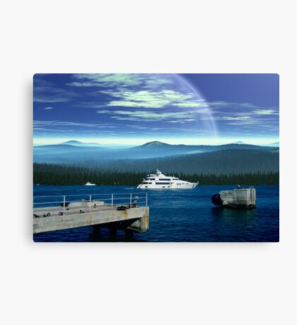 Forest World - Earthsea Canvas Print