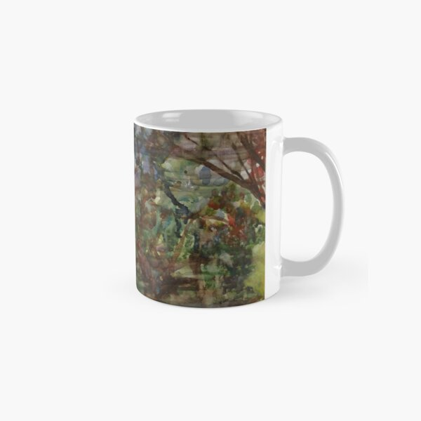 Reflections of Branches Bending Gently, 2001 Classic Mug